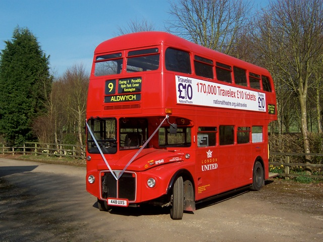 Photo of Routemaster bus RM848