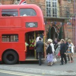 Guests arrive at Wokingham Town Hall