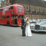 Bride and Groom arrive!